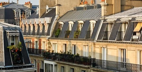 середине прошлого фото парижских мансард шары можно