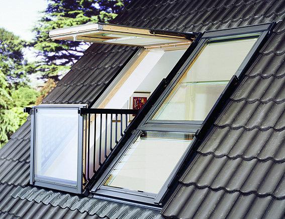Функциональное окно-балкон