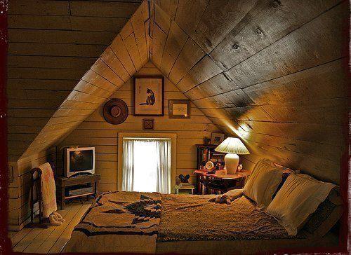 Комната на чердаке