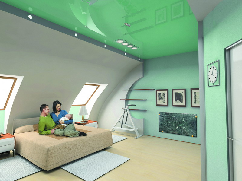Изысканный потолок