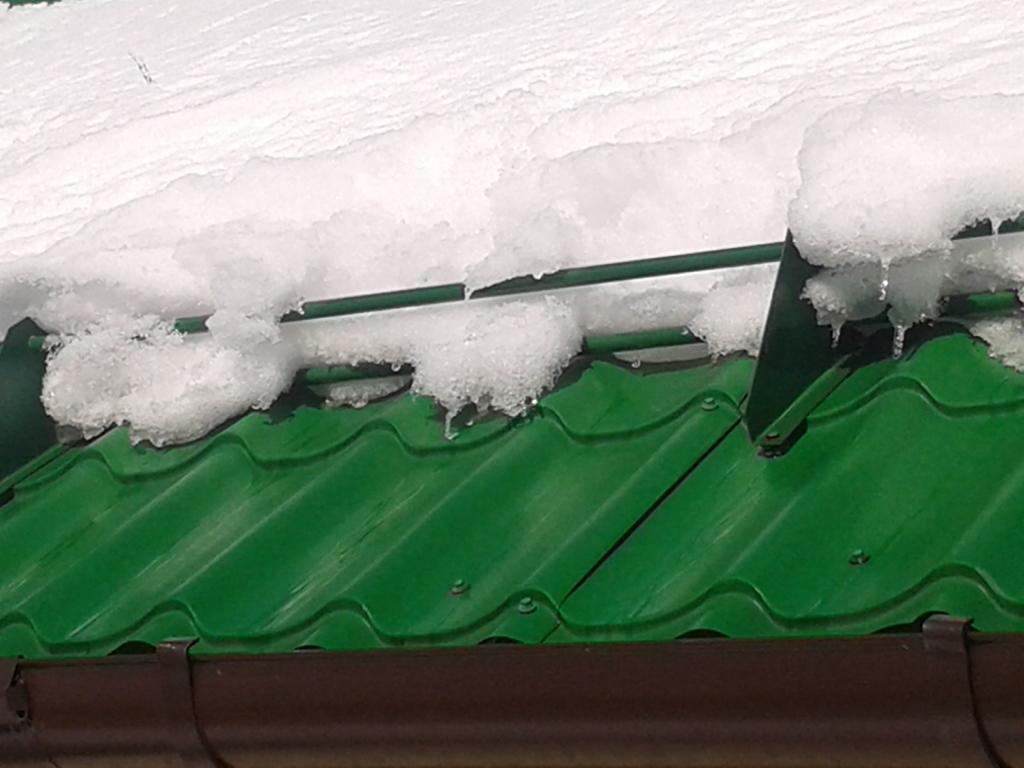 Роль снегозадержателей
