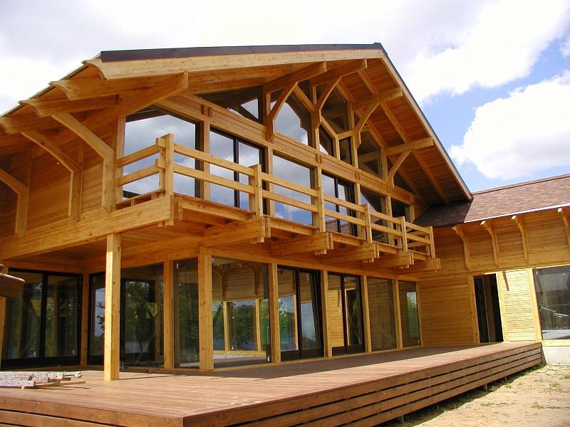Современные дома в стиле фахверк