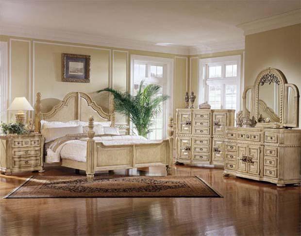 Спальная в классическом стиле