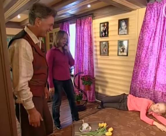 Фазенда: Мансарда-спальня