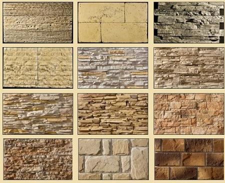 Разнообразие декоративного камня
