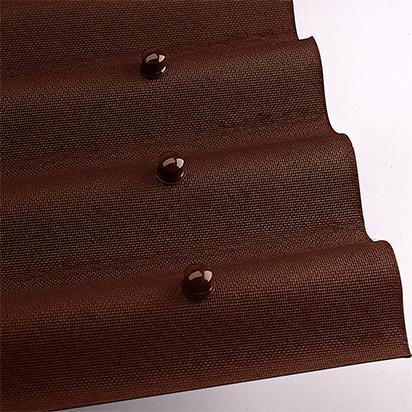 Ондулин коричневый (фото)